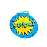 Superheroes Collection, Incredible and Teamwork Two-Sided Decoration