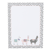 Llama Magnetic Notepad, 5 x 6 1/2 inches, 60 Pages