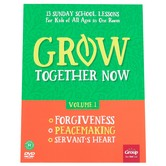 Group Publishing, Grow Together Now Volume One 13 Sunday School Lessons, Paperback, All Ages