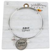 Wildflower Road, Grit & Grace Wire Charm Bracelet, Zinc Alloy, Brass, & Plastic