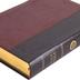 ESV Large Print Wide Margin Bible, TruTone, Brown and Cordovan, Portfolio Design