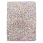 Blush Glitter Journal, Pink, 6 x 8 inches, 96 Lined Pages