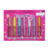 Expressions Girl Lip Gloss, 7 Assorted Flavors and Colors, .04 fluid ounces