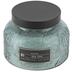 Darsee & David's, Sea Spa Embossed Jar Candle, Blue, 18 Ounces