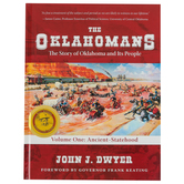 The Oklahomans The Story of Oklahoma...Vol 1 Ancient-Statehood, Hardcover, Grades 6 and up