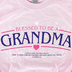 Red Letter 9, 3 John 1:4 Blessed To Be A Grandma, Women's Short Sleeve T-Shirt, Pink, 2X-Large