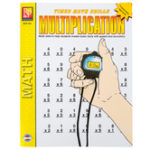 Remedia Publications, Timed Math Drills Multiplication: A Systematic Approach, Paperback, Grades 3-6