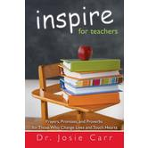 Inspire For Teachers, by Josie Carr, Paperback