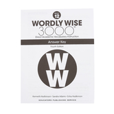 Wordly Wise 3000 4th Edition Answer Key 12, Paperback, Grade 12