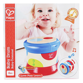 Hape, Baby Drum, 6 x 5 inches, Ages 6 Months & Older