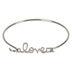Modern Grace, Psalm 23:3 Love Bracelet Set, Zinc Alloy, Silver, Set of 3