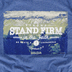 Kerusso, 1 Corinthians 16:13 Stand Firm, Men's Short Sleeved T-Shirt, Heather Navy, 2X-Large