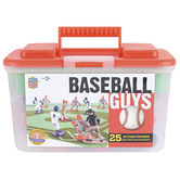 MasterPieces, Baseball Guys Sports Action Figure Set, 27 Pieces, Ages 3 and Older