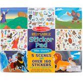 Melissa & Doug, Bible Stories Reusable Sticker Pad, 5 Scenes with Over 160 Stickers