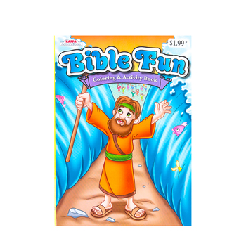Bible Fun Coloring & Activity Book, by Kappa Books, Activity Book