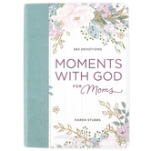 Christian Art Gifts, Moments with God for Moms: 365 Devotions, by Karen Stubbs, Imitation Leather