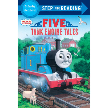 Thomas & Friends, Five Tank Engine Tales, Step Into Reading, Level 1-2, by Richard Courtney