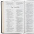 NASB Large Print Thinline Bible, Bonded Leather, Black