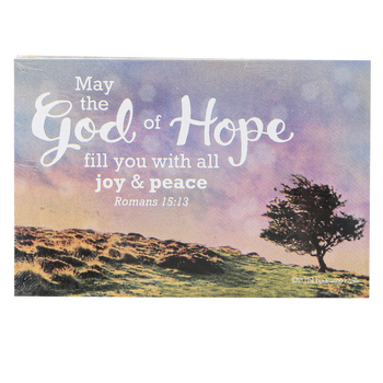 Renewing Faith, Romans 15:13 God of Hope Pass Along Cards, 2 x 3 inches, Set of 10