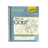 Apologia, Who Is God Junior Notebooking Journal, Spiral, Grades 1-4