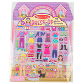 Melissa & Doug, Puffy Stickers Play Set: Dress Up, 76 Reusable Stickers, Ages 4 and up