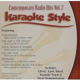Contemporary Radio Hits Volume 2, Karaoke Style, As Made Popular by Various Artists, CD+G