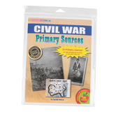 Gallopade, The Civil War Primary Sources Series, Grades 1-6, 8.5 x 11 Inches, 20 Pieces