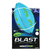Toysmith, NightZone Night Striker Blast Football, 8 inches, Ages 6 and Older