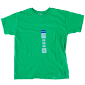 Gildan, Short Sleeve T-Shirt, Irish Green, Youth Small 6/8, Pre-Shrunk Cotton, 1 Each