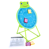Melissa & Doug, Sunny Patch Dilly Dally Turtle Target Game, 6 Pieces, Ages 3 and Older