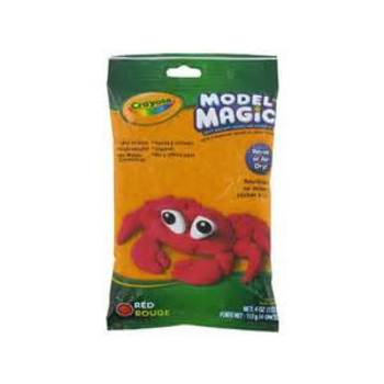 Crayola, Model Magic Modeling Compound, Red, 4 ounces