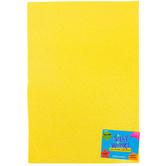 Silly Winks, Glitter Foam Sheet, Pastel Yellow, 12 x 18 Inches, 1 Each