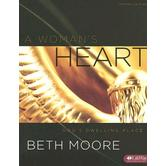 A Woman's Heart Bible Study Book: God's Dwelling Place, by Beth Moore, Paperback