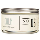 Calm Aromatherapy Candle in Tin, Sandalwood & Incense Scent, 11 Ounces, 4 x 3 1/8 inches