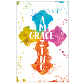 Salt & Light, Amazing Grace Church Bulletins, 8 1/2 x 11 inches Flat, 100 Count