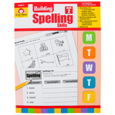 Evan-Moor, Building Spelling Skills Grade 2 Teacher's Edition, Reproducible, Paperback, 160 Pages