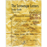 Progeny Press, The Screwtape Letters Student Study Guide, Paperback, 85 Pages, Grades 9-12