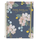 DaySpring, Studio 71, Floral 12-Month 2021 Planner, Navy and Gold, 8 5/8 x 6 3/4 Inches