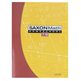 Saxon Math 7/6 Homeschool Student Text, 4th Edition, Paperback, 744 Pages, Grade 6