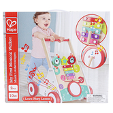 Hape, My First Musical Walker, Wood, 16 x 16 1/4 x 19 3/4 inches, Ages 10 Months & Older