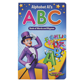 Rock N Learn, Alphabet Al's ABC Book of Words and Rhymes, Board Book, 32 Pages, Preschool