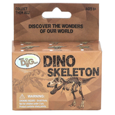 GeoCentral, Dino Skeleton Mini Excavation Kit, Ages 6 Years and Older, 3 Pieces