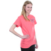 Cherished Girl, Proverbs 31: 25, Strength & Dignity, Women's Short Sleeve T-Shirt, Coral Silk, 2X-Large