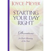 Starting & Ending Your Day Right: Flip Book Edition, by Joyce Meyer, Hardcover