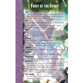 North Star Teacher Resources,  Fruit of the Spirit Memory Cards, 4 x 6.5 Inches, Pack of 12