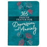 365 Days of Prayer for Depression & Anxiety, by BroadStreet Publishing, Imitation Leather