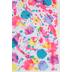 Printed Splatter Paint Felt Rectangle, Pastels, 9 x 12 Inches, 1 Piece
