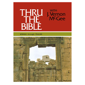 Thru the Bible Commentary: Joshua Through Psalms, Book 2, by J. Vernon McGee, Hardcover