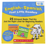 Scholastic, English-Spanish First Little Readers: Guided Reading Level B, 25 Books