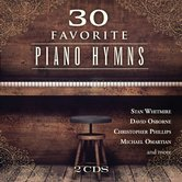 30 Favorite Piano Hymns, by Various Artists, 2 CD Set